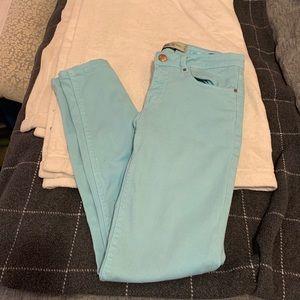 Zara light blue skinny jeans size 2